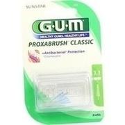 GUM Proxabrush Ersatzbürsten 0,5 mm Tanne