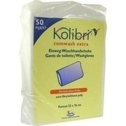 KOLIBRI comwash extra Waschhandschuh unfol.16x24cm