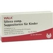 SILICEA COMP.Kindersuppositorien