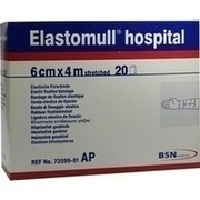 ELASTOMULL hospital 6 cmx4 m elast.Fixierb.weiß