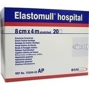 ELASTOMULL hospital 8 cmx4 m elast.Fixierb.weiß