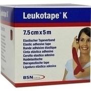 LEUKOTAPE K 7,5 cm rot