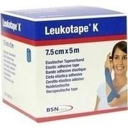 LEUKOTAPE K 7,5 cm blau