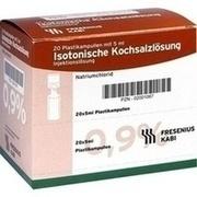 ISOTONISCHE Kochsalzlösung 0,9% Plastikampullen