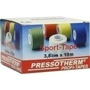 PRESSOTHERM Sport-Tape 3,8 cmx10 m weiß