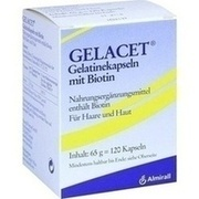 GELACET Gelatinekapseln mit Biotin