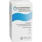 PASCONEURAL Injektopas 2% Injektionsflaschen