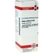 HEPAR SULFURIS D 30 Dilution