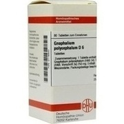 GNAPHALIUM POLYCEPHALUM D 6 Tabletten