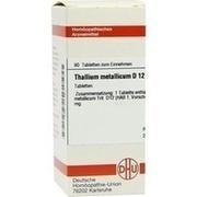 THALLIUM METALLICUM D 12 Tabletten