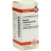 NATRIUM CARBONICUM D 30 Globuli