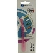 MIRADENT Interd.Pic-Brush Intro Kit 1H+4B.tra.pink