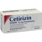 CETIRIZIN STADA 10 mg Filmtabletten