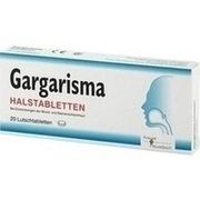 GARGARISMA Halstabletten