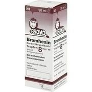 BROMHEXIN Krewel Meuselb.Tropfen 8mg/ml