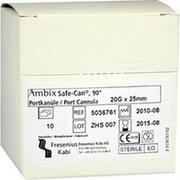 AMBIX Safe-Can Portpunkt.Kan.20 Gx25 mm gebogen