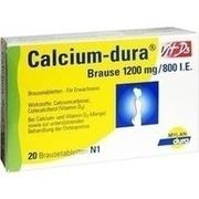 CALCIUM DURA Vit D3 Brause 1200 mg/800 I.E.