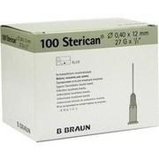STERICAN Ins.Einm.Kan.27 Gx1/2 0,4x12 mm