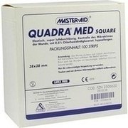 QUADRA MED square 38x38 mm Strips Master Aid