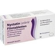 NYSTATIN LEDERLE Filmtabletten