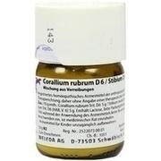 CORALLIUM RUBRUM D 6/Stibium D 6 aa