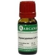 HYOSCYAMUS LM 6 Dilution