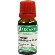 PLATINUM METALLICUM LM 12 Dilution