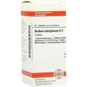 ACIDUM SALICYLICUM D 4 Tabletten