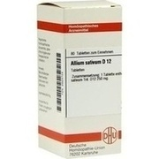 ALLIUM SATIVUM D 12 Tabletten