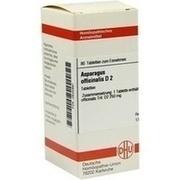 ASPARAGUS OFFICINALIS D 2 Tabletten
