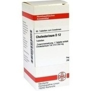 CHOLESTERINUM D 12 Tabletten