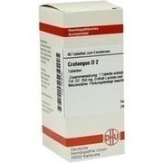 CRATAEGUS D 2 Tabletten