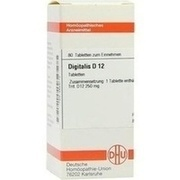 DIGITALIS D 12 Tabletten