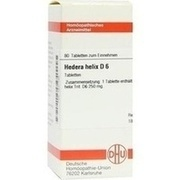 HEDERA HELIX D 6 Tabletten