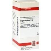 HEPAR SULFURIS D 5 Tabletten