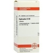 HYDRASTIS D 30 Tabletten