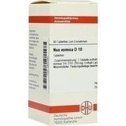 NUX VOMICA D 10 Tabletten
