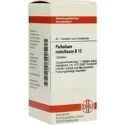 PALLADIUM METALLICUM D 12 Tabletten