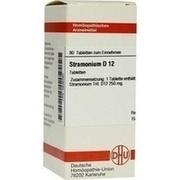 STRAMONIUM D 12 Tabletten
