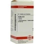 SULFUR D 8 Tabletten