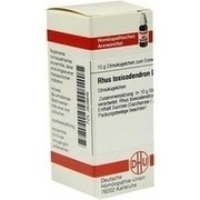 RHUS TOXICODENDRON D 10 Globuli