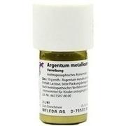 ARGENTUM METALLICUM praeparatum D 20 Trituration