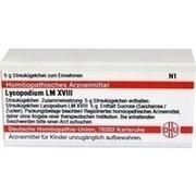 LM LYCOPODIUM XVIII Globuli