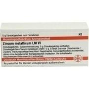 LM ZINCUM metallicum VI Globuli