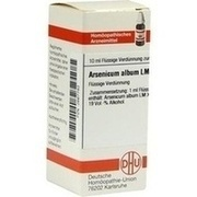 LM ARSENICUM album XVIII Dilution