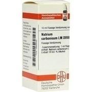 LM NATRIUM carbonicum XVIII Dilution