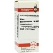 LM RHUS toxicodendron XVIII Dilution