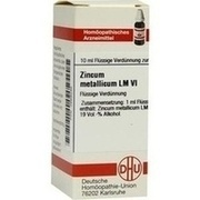 LM ZINCUM metallicum VI Dilution