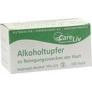 ALKOHOLTUPFER 3x6 cm steril
