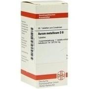 AURUM METALLICUM D 8 Tabletten